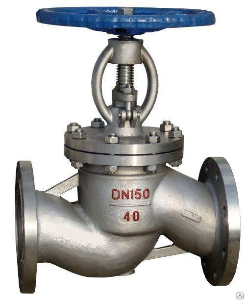 Клапан запорный (аммиачный), ТУ 3742-019-57146717-2005, класс герметичности А
